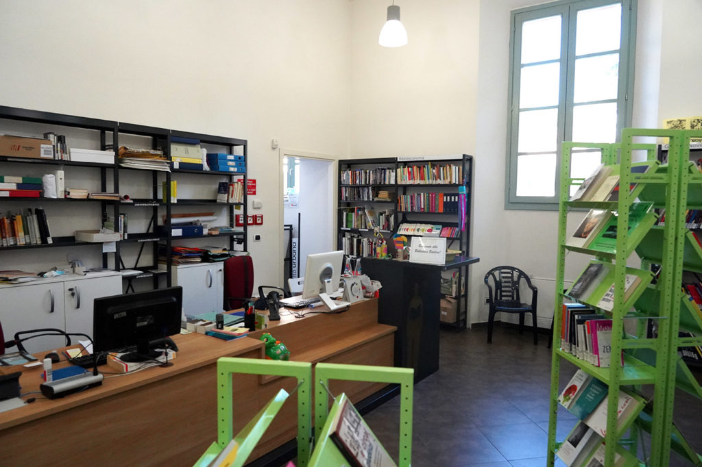 Accoglienza Biblioteca A. Baldini Santarcangelo