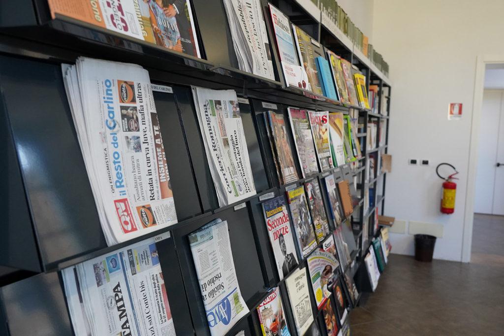 Sala quotidiani e riviste